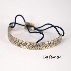 Oxideret armbånd med knyt - håndlavede smykker