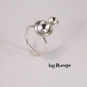 halvkuglering - Ringe