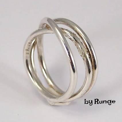 snoet trådring - Ringe